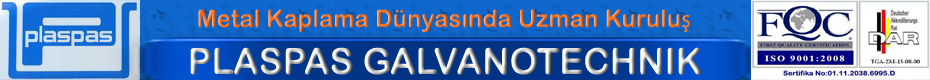 Plaspas Plastik Ve Paslanmaz  Saç Tekniği San. Tic.Ltd Şti.
